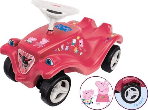 Bobby Car Peppa Pig mit breiten Flüsterreifen VEDES exklusiv