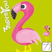 Näh-Set Flamingo