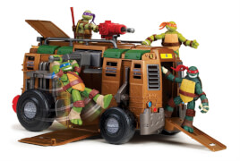 Turtles Shellraiser ohne Figuren