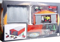 Speedzone Bauernhof-Scheune mit Fahrzeugen und Zubehör