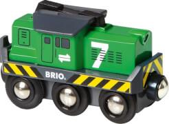 BRIO 63321400 Batterie-Frachtlok
