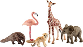 Schleich Wild Life 42388 Wild Life Tier-Mix, ab 3 Jahre