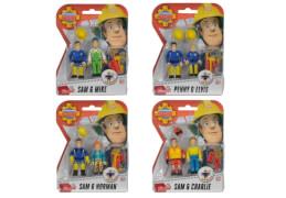Simba Feuerwehrmann Sam - 2er-Pack Figuren, sortiert