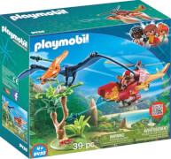 Playmobil 9430 Helikopter mit Flugsaurier