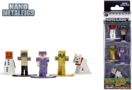 Minecraft Nanofigs 5-Pack