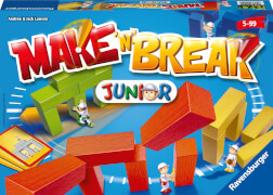 Ravensburger 220090 Make n Break Junior, Kinderspiel