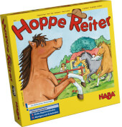 HABA - Hoppe Reiter, für 2-4 Spieler, ca. 10 min, ab 3 Jahren