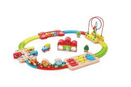 Hape Regenbogen-Puzzle Eisenbahnset