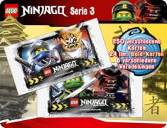 LEGO Ninjago 3 Trading Cards