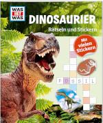 Tessloff WAS IST WAS Rätseln und Stickern: Dinosaurier