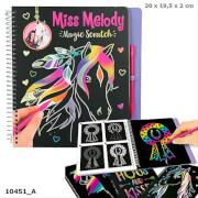Miss Melody Magic Scratch Book