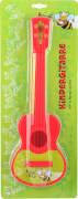 Boogie Bee Kindergitarre Kunststoff, rot, 40cm