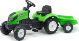 FALK Tret-Traktor mit Hänger grün 2 - 5 Jahre
