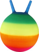 Outdoor active Sprungball Regenbogen, # 45 cm