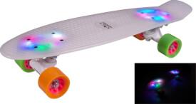 Hudora 12134 - Skateboard Retro Rainglow, ca. 57x15 cm, ab 6 Jahren