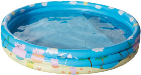 Happy People 16262 Peppa Pig 3-Ring-Pool, aufgeblasen ca. 150x25 cm,