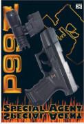 25er Pistole P99 Lampe ca. 21 cm, Tester